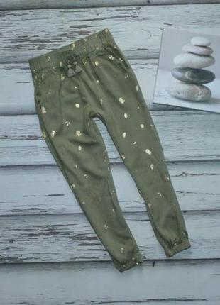 5-6 лет легкие брюки вискоза h&m