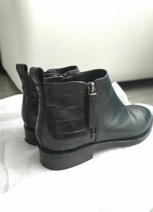 Geox кожаные полуботинки с италии 25см