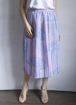 Нежно - фиолетовая юбка плиссе от bonmarche