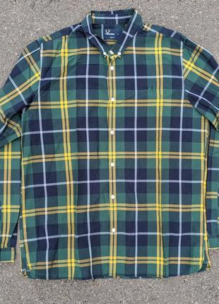 Мужская рубашка fred perry оригинал