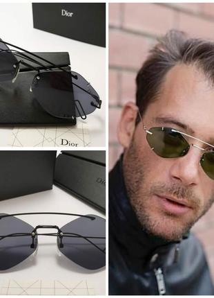 Трендовые солнцезащитные очки dior uv 400