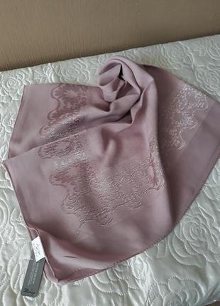 ❤нарядный шелковистый турецкий платок в расцветках