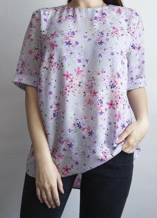 Нежно - фиолетового цвета блузка от atmosphere