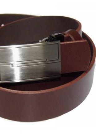 Ремень tom&rose 120 коричневый польша кожа