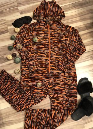 Бомбезный домашний комбинезон,пижама кигуруми🐯dunelm (великобритания🇬🇧)