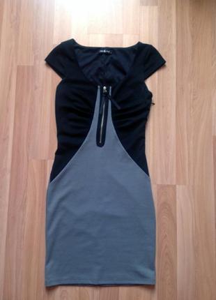 Платье трикотажное pole&pole
