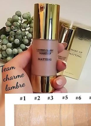 Акция! тональный крем для нормальной и жирной кожи matting make-up №3. франция.5 фото