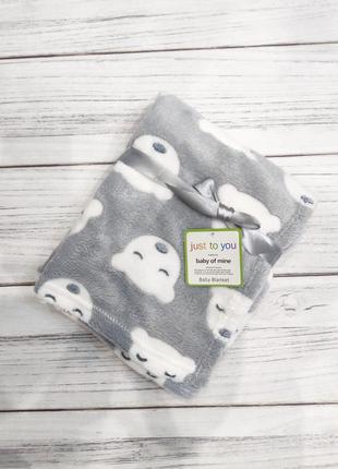 Акция милый пледик на лето плед одеяло для новорожденных на выписку покрывало