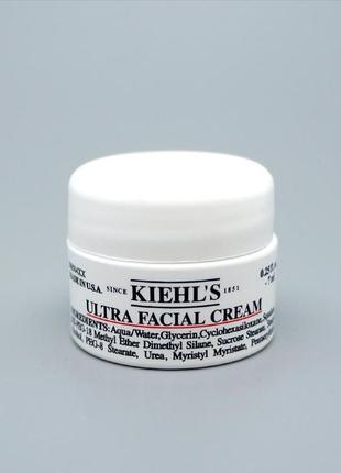 Увлажняющий крем для лица ultra facial cream для всех типов кожи kiehls