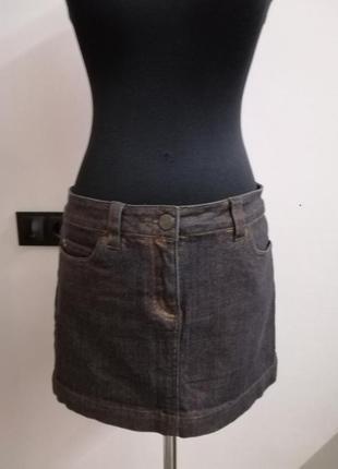 Новая джинсовая юбка george 10/38 размер