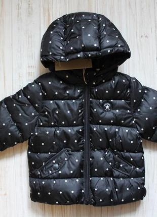 Новая куртка mango на 12-18мес.