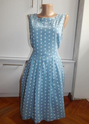 Dorothy perkins сарафан джинсовый лёгкий модный р14