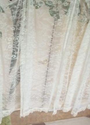 Набор штор из 4 штук 5 метров 50 см/штора/тюль/занавеска3 фото