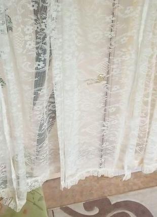 Набор штор из 4 штук 5 метров 50 см/штора/тюль/занавеска2 фото