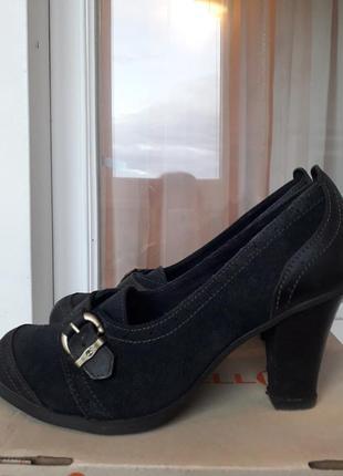 Кожаные туфли timberland