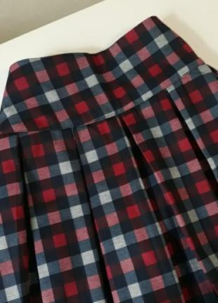 Юбка летняя юбка в клетку школьная форма юбка в стиле американской  школьницы
