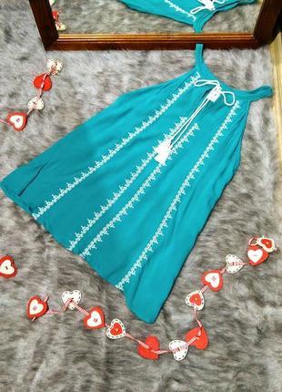 Вышиванка блуза кофточка с вышивкой из вискозы