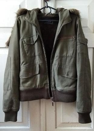 Милитари демисезонная куртка