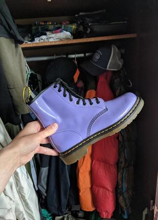 Кожаные ботинки dr martens 1460w