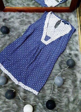 Блуза кофточка топ с v-образным вырезом из натуральной вискозы next