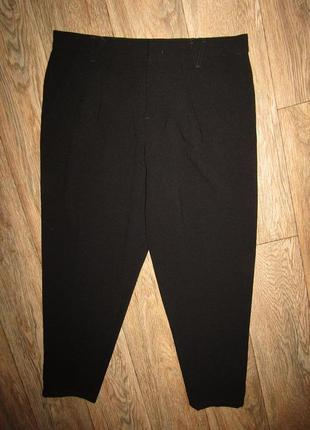 Тонкие зауженные брюки р-р л-14 бренд nine west