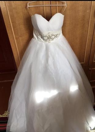 Свадебное платье 44 46 размер