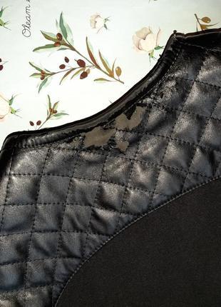 🌿1+1=3 классическое черное пальто шерсть + кашемир x-woyz демисезон, размер 46 - 4810 фото