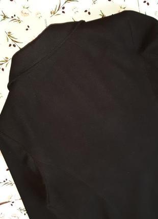 🌿1+1=3 модное черное прямое плотное пальто на пуговицах bm демисезон, размер 52 - 544 фото