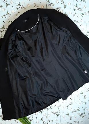 🌿1+1=3 модное черное прямое плотное пальто на пуговицах bm демисезон, размер 52 - 547 фото
