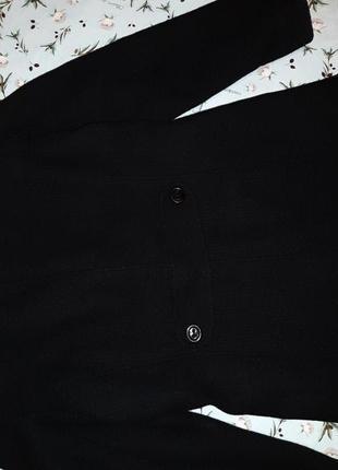 🌿1+1=3 крутое черное плотное шерстяное пальто mexx (80% шерсть) демисезон, размер 46 - 482 фото