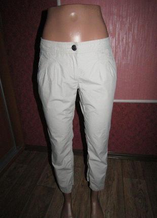 Тонкие укороченные брюки р-р 34-36 бренд street one