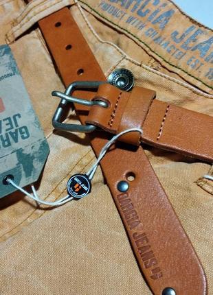 Ремень кожаный мужской garcia шкіряний ремінь чоловічий гарсія 95