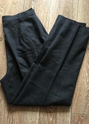 Шерстяные брюки woolmark