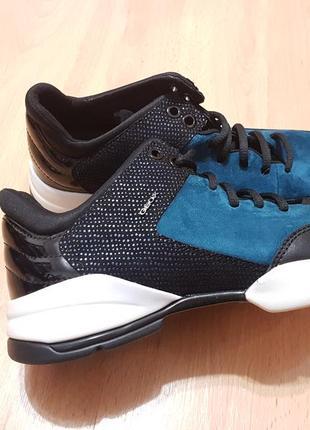 Шкіряні кросівки geox scarpe sfinge