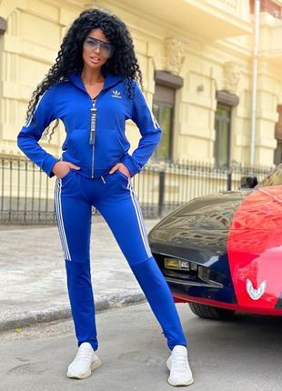 Спортивный костюм цвет электик на размер s-m , m-l , l-xl