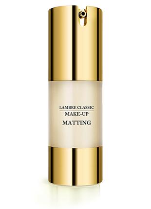Тональный крем lambre classic matting make up №3 (спелый персик)