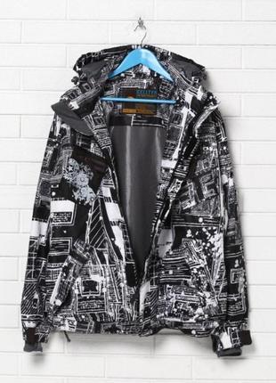 Демисезонная лыжная куртка для сноуборда р.50