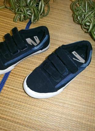 Кроссовки для мальчика темно-синие р.29