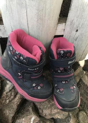 Зимние термо ботинки 31 рр