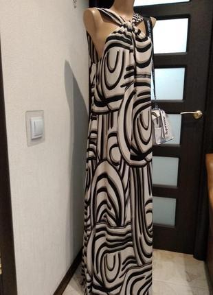 Тонкий лёгкий платье сарафан макси