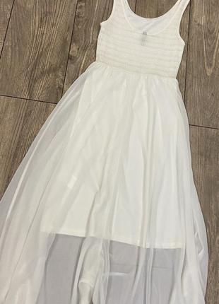 Белое платье в пол divided p.343 фото