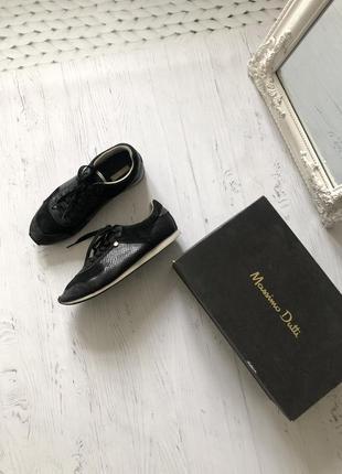 Туфли massimo dutti 100% кожа