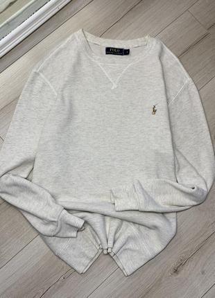 Оригинальный хлопковый свитер