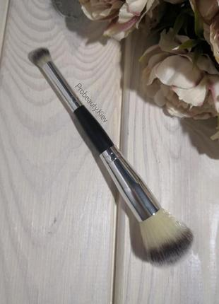 Кисть для макияжа ворс таклон двусторонняя многофункциональная пудра румяна тени probeauty