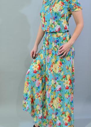 4318\50 летнее платье с открытыми плечами boohoo m