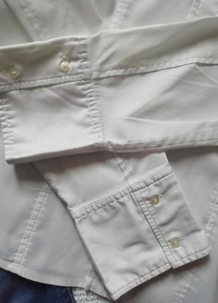 Hugo boss базовая белая рубашка, рубаха, сорочка, блузка4 фото