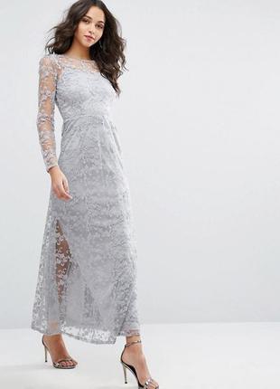 Потрясающе красивое нарядное/вечернее/длинное платье/платье в пол