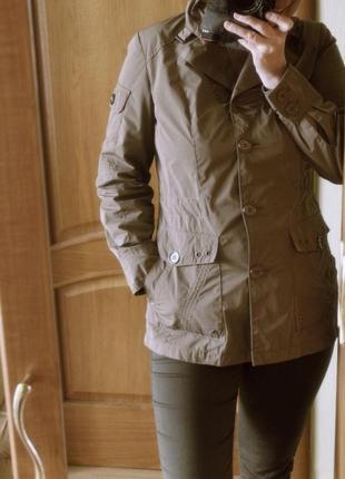 Куртка ветровка тренч пиджак от bexleys пояс регулируемый весна-осень р. 36-38