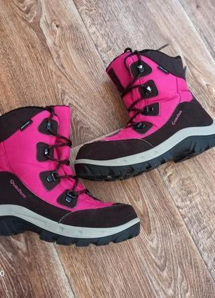 Демисезонные ботинки quechua для девочки