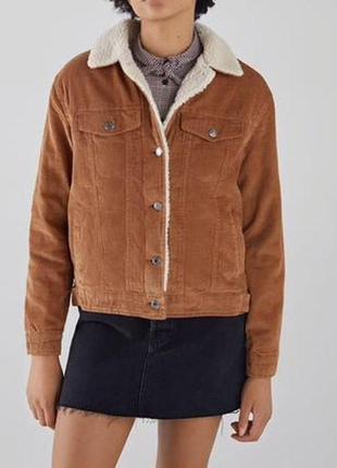 Шерпа,вельветовая куртка,курточка,джинсовка на меху,утепленная